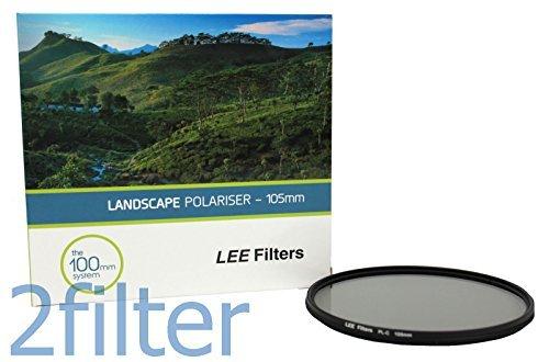 Lee Filters 105mm Landscape Polariser Zirkular-Polfilter (Polarisationsfilter, CPL-Filter) für 100mm-System - Filterhalter und Adapterringe erforderlich