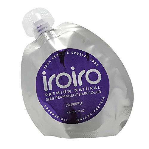 20 Purple Premium Natural Semi Permanent Hair Color