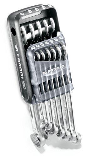 Facom 440. jp12a100y von 12Ringschlüsselsatz in Ihrem Schutzkoffer–Limitierte Edition–100Jahre Grau, Set 12-teilig