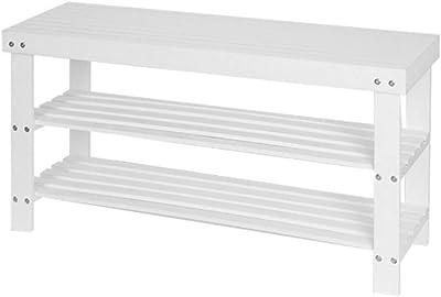 Ikea TJUSIG - Banco con Zapatero, Negro - 108 x 50 cm ...