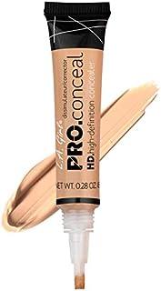 LA Girl Pro High Definition Concealer (3, GC 973 Creamy Beige)
