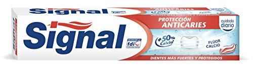 Signal - Pasta de dientes Protección Anticaries - Flúor Calcio - 75 ml