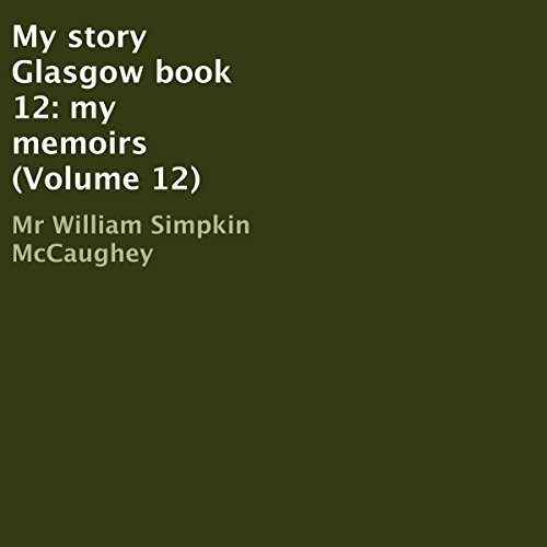 My Story Glasgow Book 12 audiobook cover art
