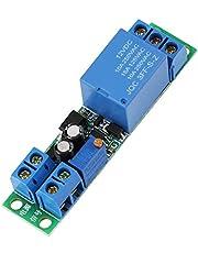 Módulo de Relé, Rele Temporizador 12v, Rele Retardo 12v, 1PCS DC12V Señal Ajustable de 0 a 25 Segundos, Módulo de Relé de Interruptor de Temporizador de Retardo de Apagado del Disparador