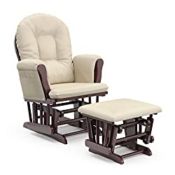 Ottoman for rocking chair as a unique push present for mom