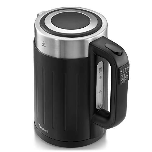 Wasserkocher mit Temperatureinstellung 50-100°C - Leistungsstarker Elektrischer Wasserkocher 2200 W - Patentierte STRIX-Technologie - Wasserkocher Retro - BPA-frei - Kettle 360° Pirouettenbasis
