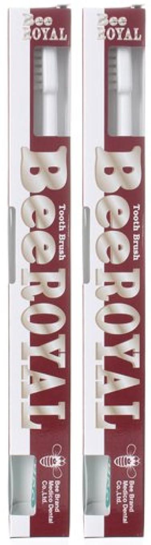 嵐の群れ検出BeeBrand Dr.BEE 歯ブラシ ビーロイヤル ふつう 2本セット