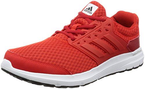 adidas Galaxy 3 M, Herren Sneaker, Rot (Core Red/Core Red/Scarlett), 39.1/3 EU