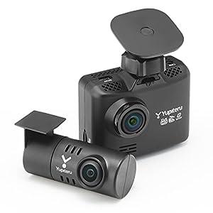 """ユピテル 前後2カメラ ドライブレコーダー WDT510c シガープラグモデル 前方200万画素 後方100万画素 ノイ..."""""""