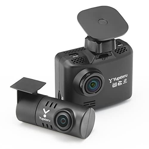 ユピテル 前後2カメラ ドライブレコーダー WDT510c シガープラグモデル 前方200万画素 後方100万画素 ノイ...