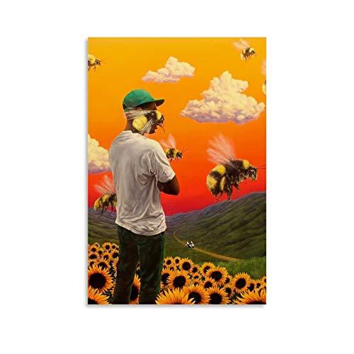 Pittura artistica API Tyler The Creator Flower Boy Poster Quadro decorativo su tela da parete per soggiorno, camera da letto, 30 x 45 cm