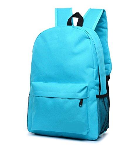 Zaini Casual coreano di modo di spalla del computer portatile Sacchetti di scuola di stile casual leggero Daypack Canvas zaino da viaggio
