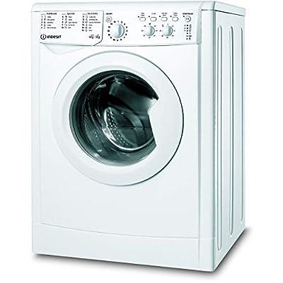 Indesit IWDC65125UKN 6kg Wash 5kg Dry 1200rpm Freestanding Washer Dryer - White