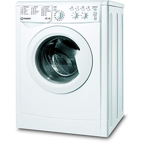 Indesit IWDC65125UKN 6kg Wash 5kg Dry 1200rpm Freestanding Washer Dryer - White