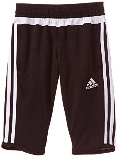 adidas Erwachsene Sporthose Lang Tiro15 3/4 pn y Hose, Black/White, 128