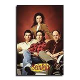 HXX Seinfeld Poster, dekoratives Gemälde, Leinwand,