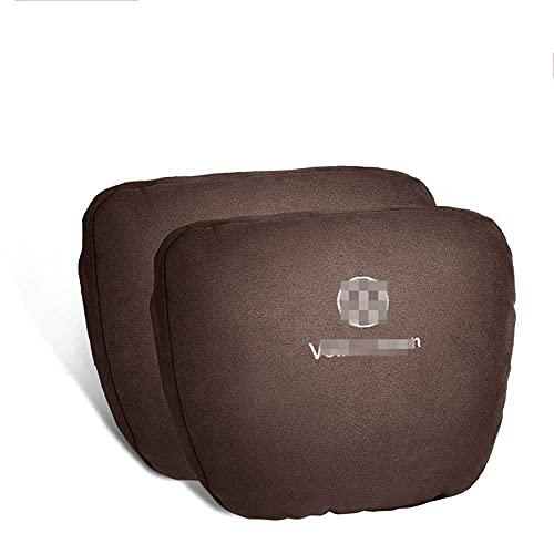 NIUASH Auto Nackenkissen Kissen Nacken Kopfstütze Sitz Kopfstütze,Für Volkswagen GOLF4 GOLF5 GOLF6 GOLF7 GOLF8 2003~2021