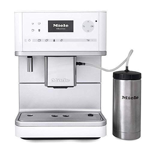 Miele CM6350 Countertop Coffee Machine, Lotus White