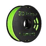 Aibecy - Filamento flessibile in TPU per stampante 3D, 1 kg/bobina, 1,75 mm, colore: Verde mela