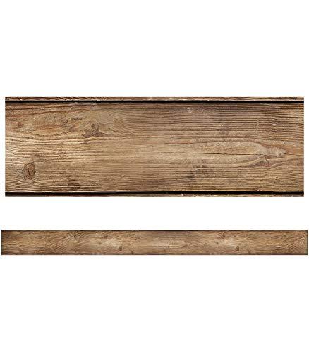 Schoolgirl Style - Woodland Whimsy   Wood Grain Straight Borders