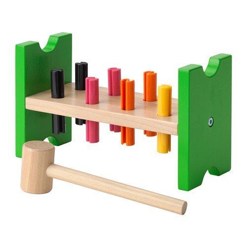 Ikea MULA Hammerblock aus Holz