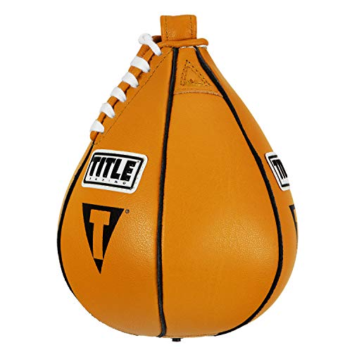 Title Boxing Super Speed Bag, Yellow, 5' x 8'