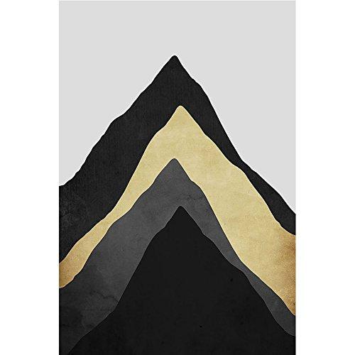 osmanthusFrag Multicouche à Motif de Montagne sur Toile Photo Moderne Peinture Murale sans Cadre intérieur Home, Toile, 50 x 70 cm
