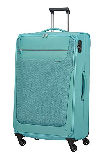 American Tourister Sunny South Bagagli- Valigia, Spinner L (79 cm - 103 L), Blu (Purist Blue)