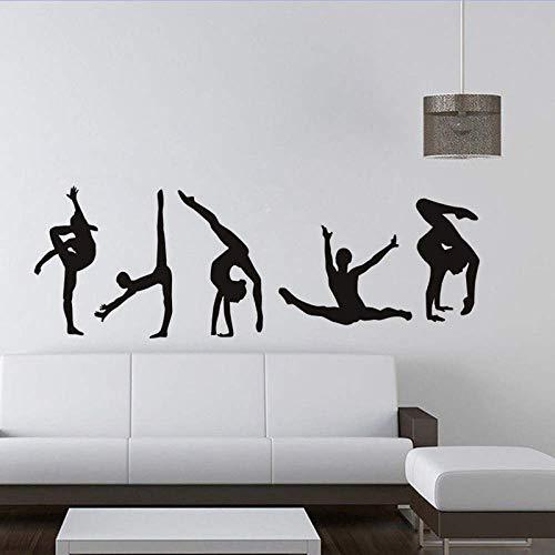 Personalidad De Ballet Ebay Dance Nuevas Pegatinas Decorativas De Pared Papel Tapiz Extraíble 58Cm X 20Cm