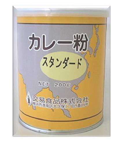交易食品 カレー粉 (スタンダード) 丸缶 200g ×2個