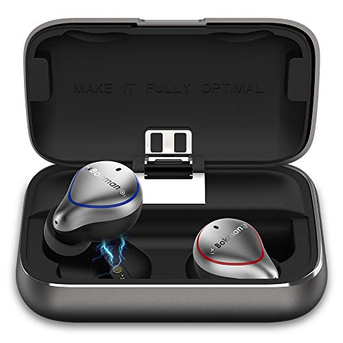 bokman Auriculares Bluetooth, O5 Auriculares Inalámbricos...
