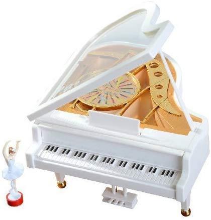 Alytimes Scatola Di Musica Ragazza Classica Meccanica Ballerina Danza Sul Pianoforte Carillon Musica Scatola