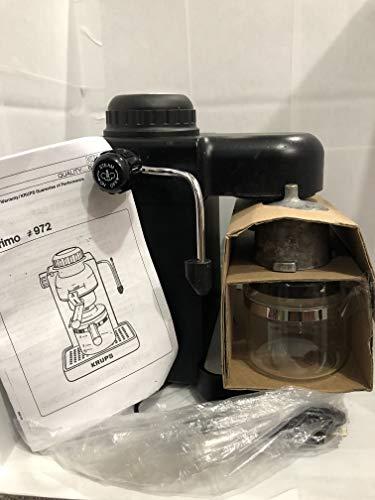 Krups Model 963 Black Espresso / Cappuccino Maker 4 CUP Steam