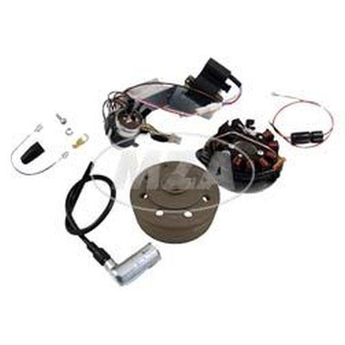 SET Umrüstsatz VAPE (M-G) Schwalbe KR51/1, KR51/2 auf 12V 35/35W (ohne Batterie, Hupe und Leuchtmittel)