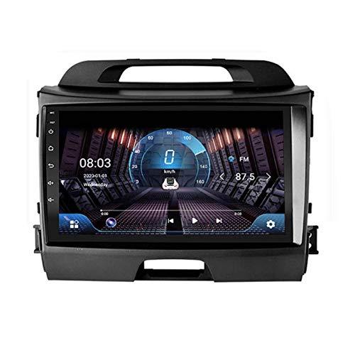 LINGJIE Navigatore satellitare Android 8.1 per Kia Sportage R 2011-2018 Navigatore GPS da 9 Pollici con Touch Screen per Auto Stereo multimediale con Telecamera Posteriore