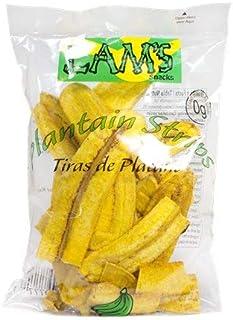 Lam's Plantan chips, vegetable snacks, healthy snacks, paleo snacks, gluten-free snacks - certified whole foods - banana c...