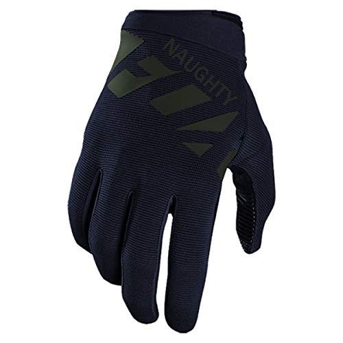 Nuevo Racing Black Gloves MTB Bicicleta Ciclismo MotocrossDownhill Dirt Bike Guantes-Navy blue-2-XL