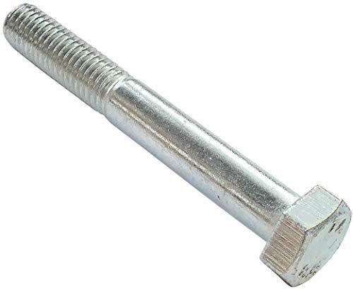 AERZETIX - Juego de 50 piezas - Pernos M8x60 parcialmente roscados - Cabeza Hexagonal - Ø8x60mm - DIN 931 - Clase 8.8 - Acero galvanizado - Bricolaje - Herramienta de montaje/Ferretería - C47512