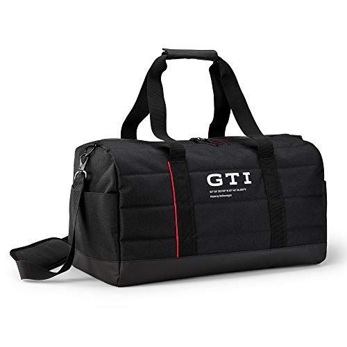 Volkswagen 5HV087318 GTI Logo Sports Leisure Travel Bag Black, Mittel