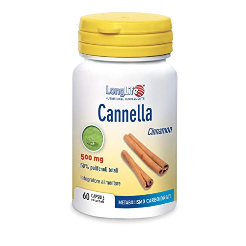 Longlife Cannella 500Mg - 40 Gr