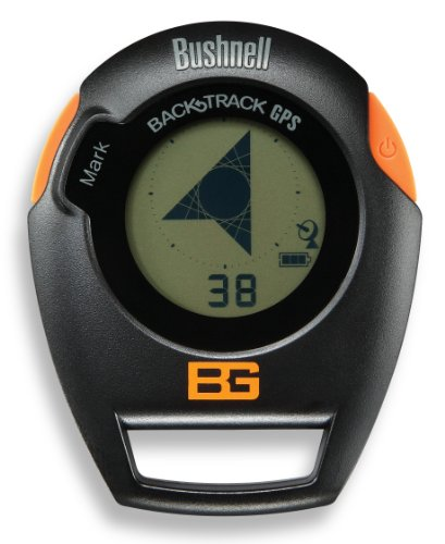 Bushnell Bear Grylls Edition BackTrack Original G2 GPS Personal Locator and Digital Compass, Orange/Black