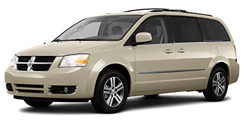 2010 Dodge Grand Caravan Crew, 4-Door Wagon, White Gold