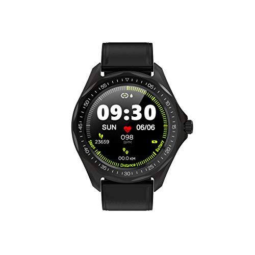 SENBONO S09 Smart Watch Runde Vollfarb-Touchscreen IP68 Wasserdicht Anruferinnerung Schrittzähler Schlafanalyse Herzfrequenz Fitness Blutdrucküberwachung Mehrere Sportmodi Smartwatch