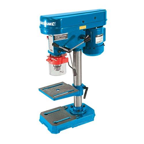 Silverline Tools 262212 - Taladro de columna 250 mm, 350 W, Negro, Azul