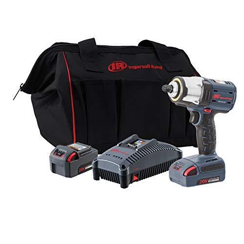 Best Price Ingersoll Rand W5133-K22 3/8 IQV20 Impact Wrench, 2 Battery Kit