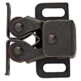 Liberty C08820L-STB-U Double Roller Catch with Spear Strike, 2-Pack