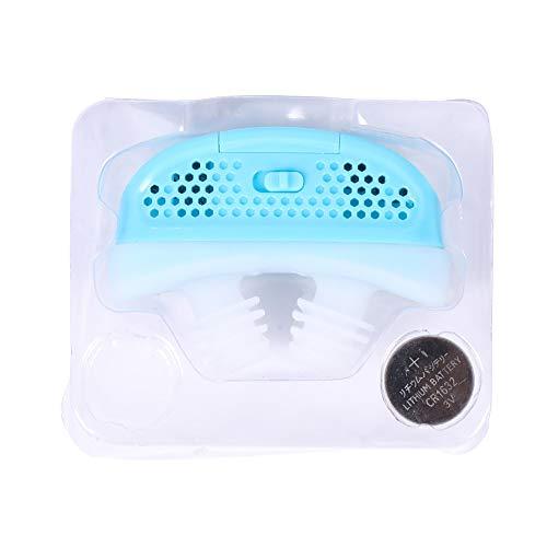 Electric Silicone Anti-Snurken Nose Clip Neus Stop Ademluchttoestellen Guardian Hulp Van De Slaap Het Verhinderen Van Snurken,Blue