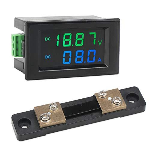 Installazione Voltmeter Digital Campo di misurazione 5-30 V DC tensione CC