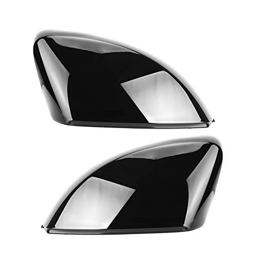 KCSAC Coque de rétroviseur latéral de rechange pour Audi A3 S3 8 V RS3 Noir nacré brillant 2013 2014 2015 2016 2018 2017 2019 (couleur : noir)