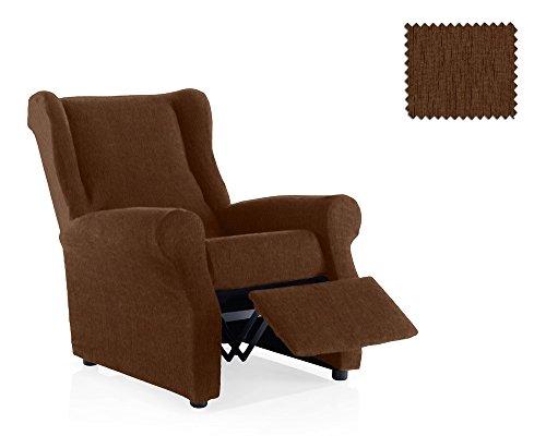JM Textil Funda de sillón Relax elástica Haber Tamaño 1 Plaza (Estándar), Color 07